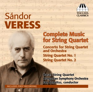 Sándor Veress: Complete Music for String Quartet