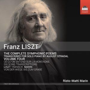 LISZT Symphonic Poems, transcr. Stradal/Marin, Volume Four cover
