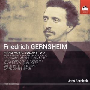 Friedrich Gernsheim: Piano Music Volume Two