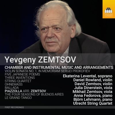 Yevgeny Zemtsov: Chamber and Instrumental Music and Arrangements