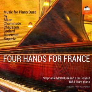Four Hands for France: Music for Piano Duet