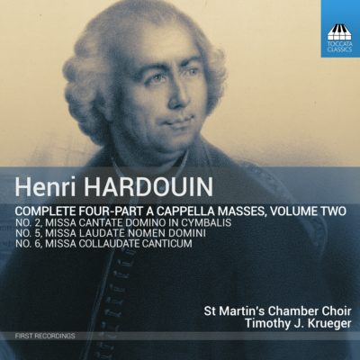 HENRI HARDOUIN Complete Four-Part Masses, Volume Two